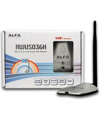 Alfa AWUS036Hv5 High Power WiFi USB