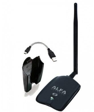 Alfa AWUS036NHA HighPower WiFi USB-adapter