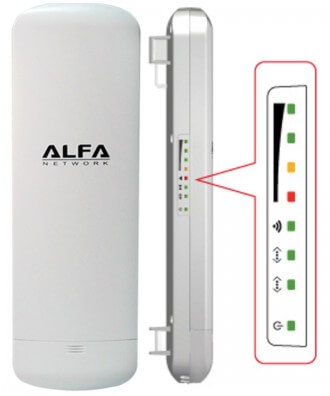 Alfa N5 802.11n Long-Range Outdoor AP/CPE