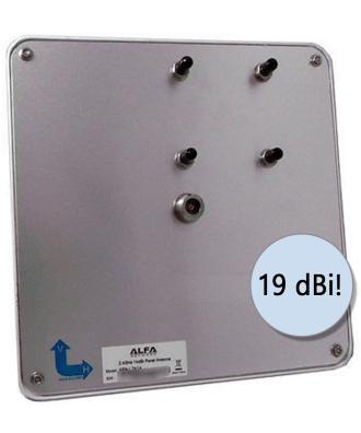 Alfa 12dBi Flatpanel antenne 2,4Ghz