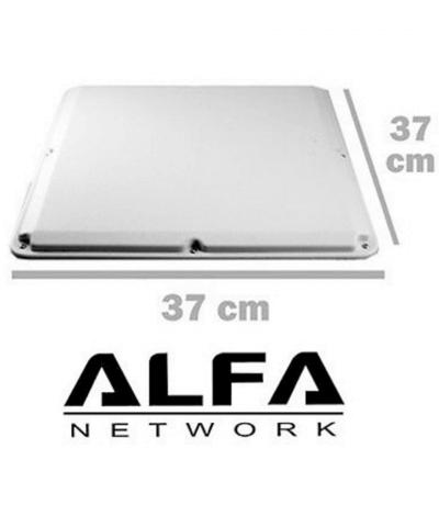 Alfa 19 dBi Flatpanel antenne 2,4 GHz